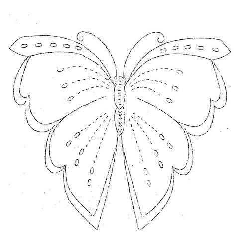 Butterfly Embroidery Design | embroidery | Embroidery patterns free