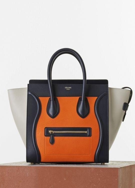b3d0cc30dd İste-Gelsin - Luggage Handbag in Bright Orange Multicolor Elephant Calfskin  - Turuncu