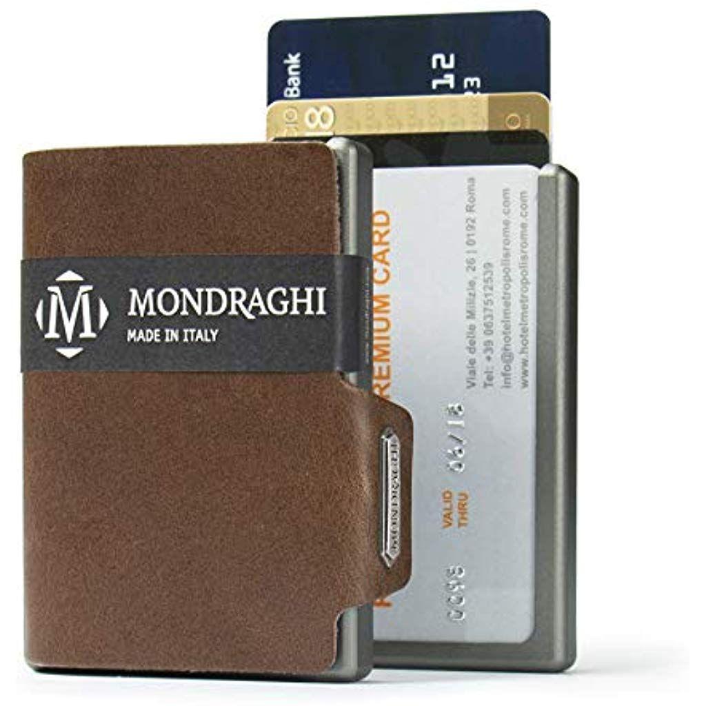 Mondraghi Linea The Original Pelle A Concia Vegetale Mini Wallet