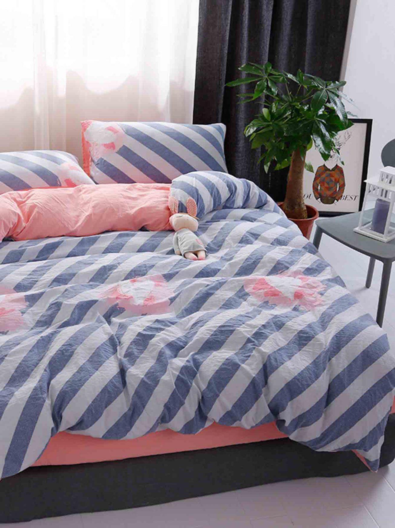 15 Striped Duvet Cover Set Bedding Sets bedding