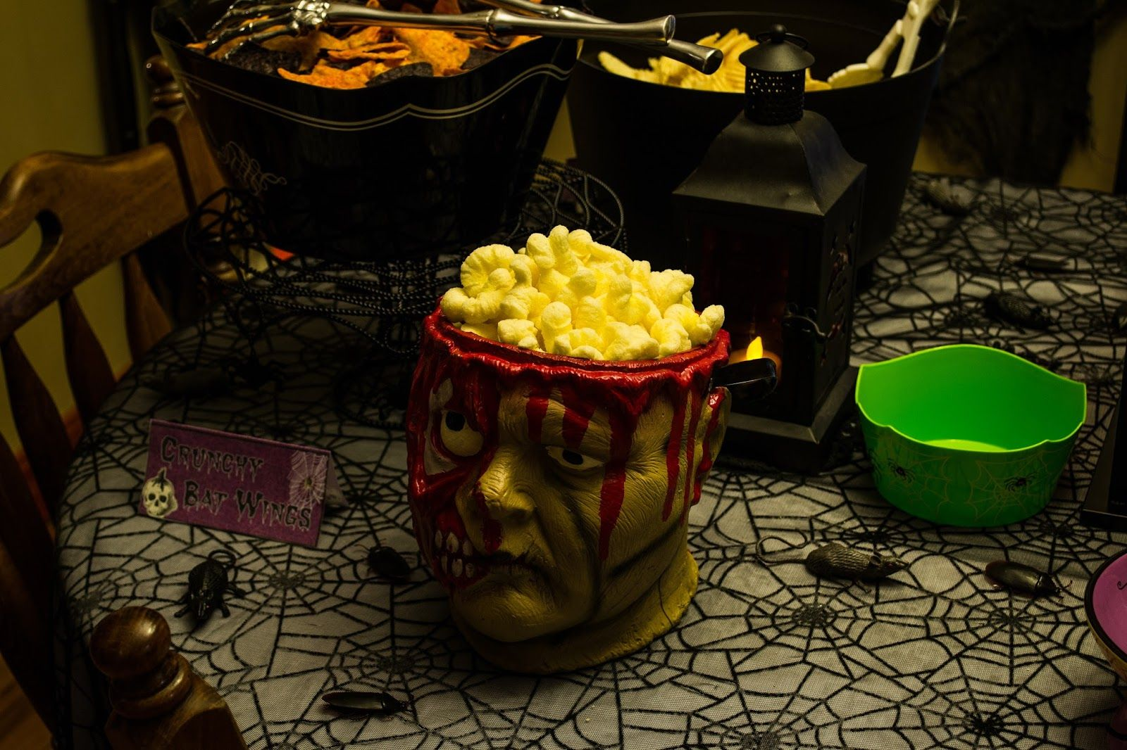 Hot buttered brains anyone? Something wicKED this way comes....: The wicKED weeKEnD Halloween Party of 2014