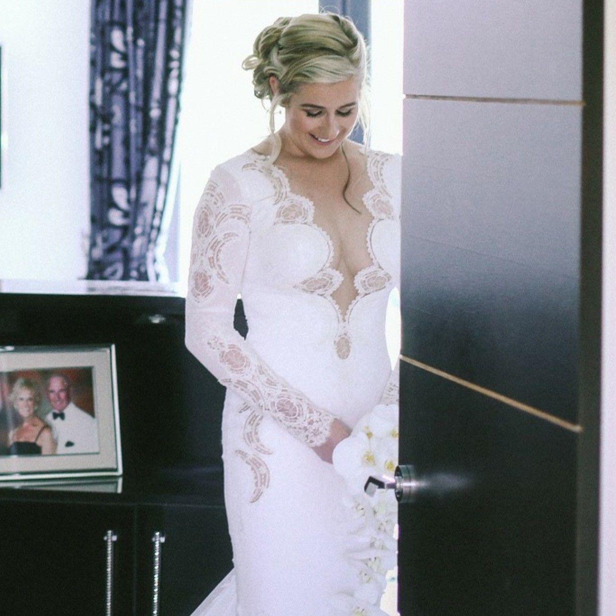 Berta Bridal 14 30 Used Wedding Dress Still White