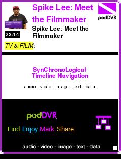 #TV #PODCAST  Spike Lee: Meet the Filmmaker    Spike Lee: Meet the Filmmaker    LISTEN...  http://podDVR.COM/?c=78e7b152-54eb-56cb-e4ab-81cf727ce996