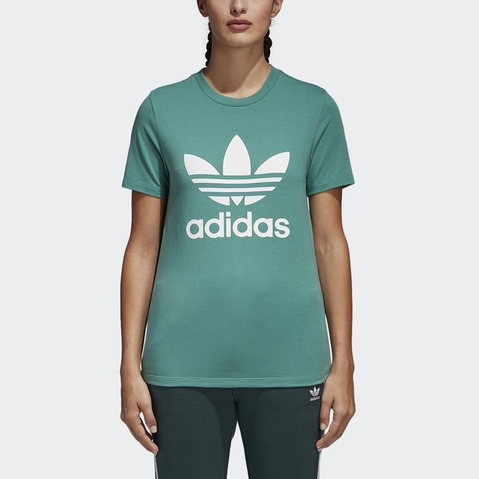 Trefoil Tee | Products | Adidas, Shirts, Adidas shirt