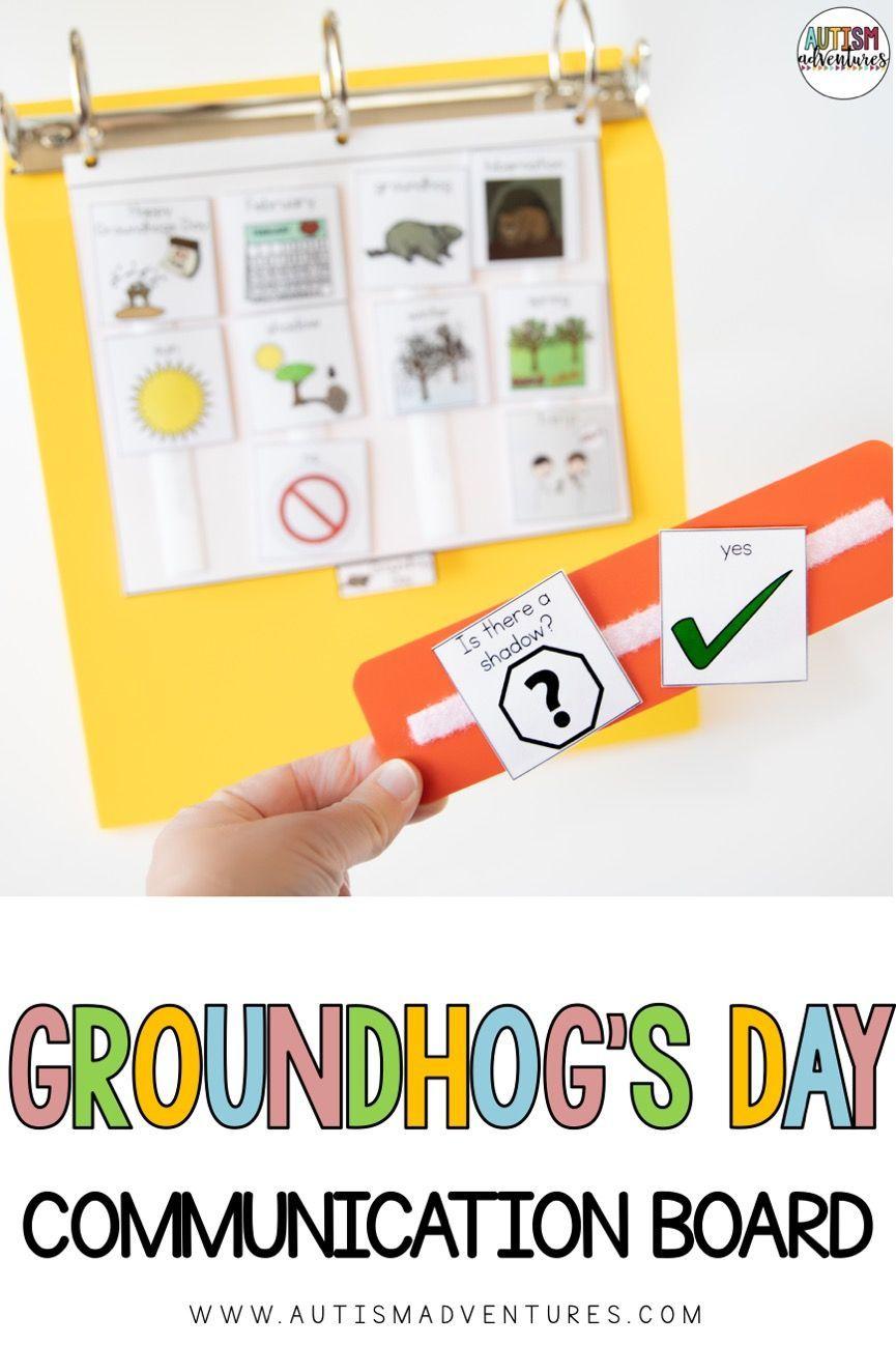 Groundhog's Day Communication Board
