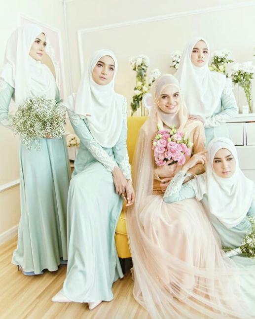 Referensi Gaun Pengantin Hijab Dress Wedding