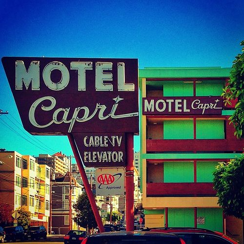 Ads, Eat Here, Hotels & Motels