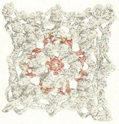 Free Crochet Bedspread Patterns Spangled Bedspread Free Crochet