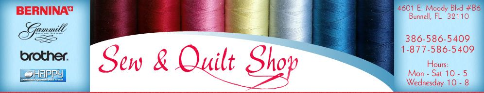 Sew and Quilt Shop Inc., Bunnell, FL | Favorite Sewing Shops ... : sew and quilt shop - Adamdwight.com