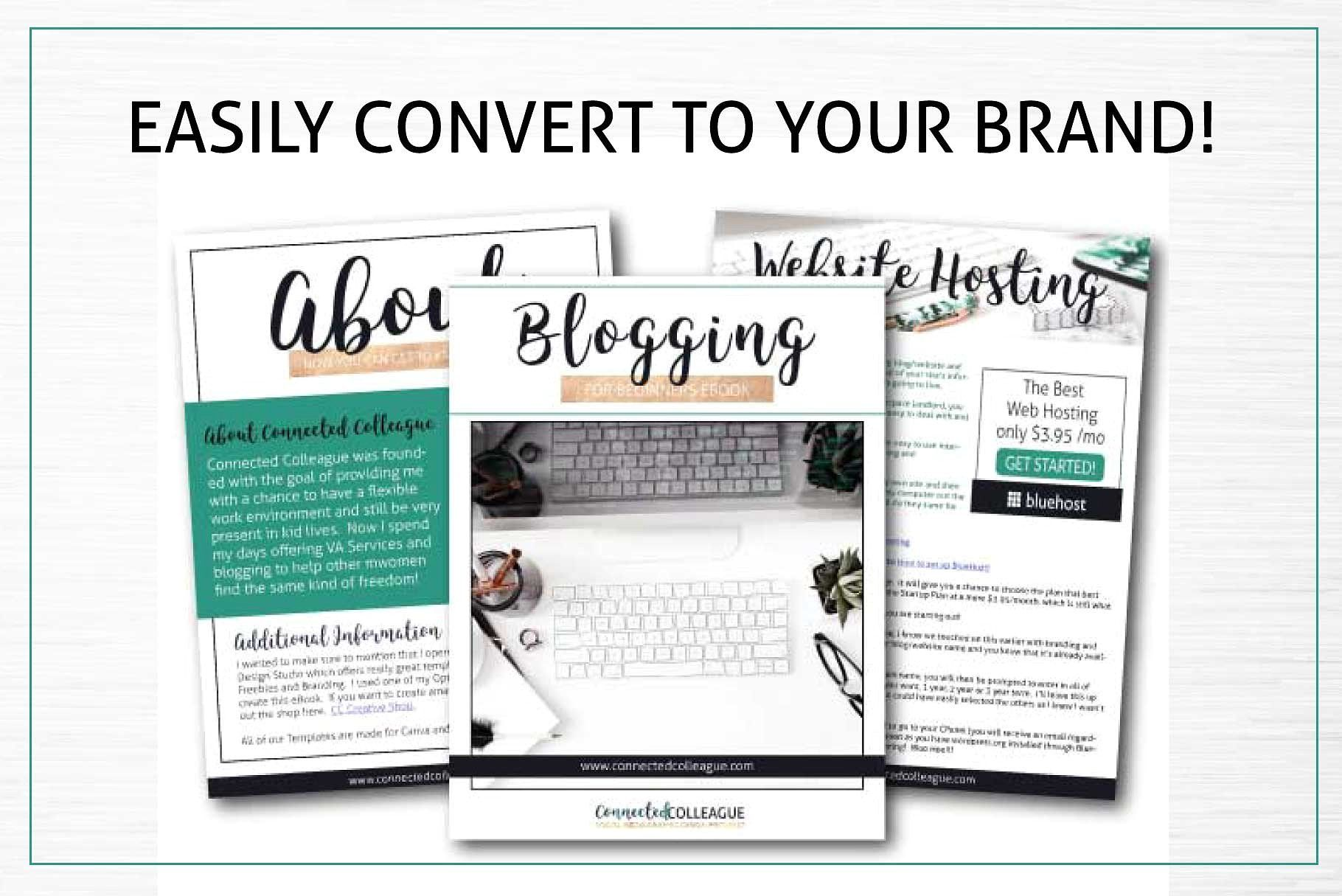 Canva Opt In Freebie Templates By Lady Boss Studio On