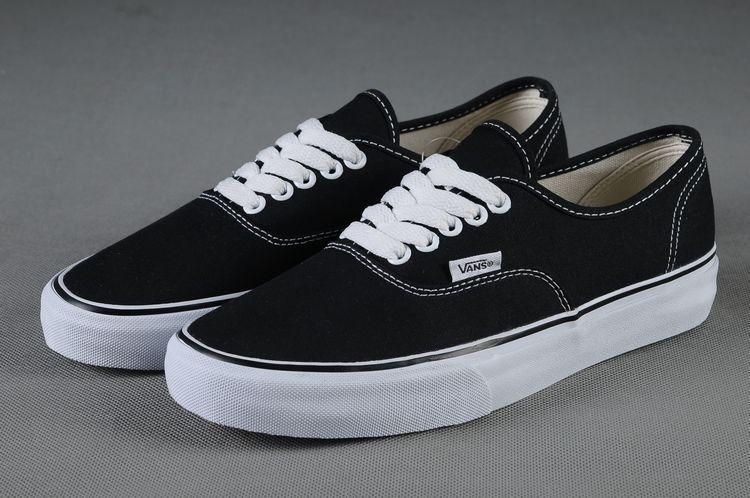 vans sale black