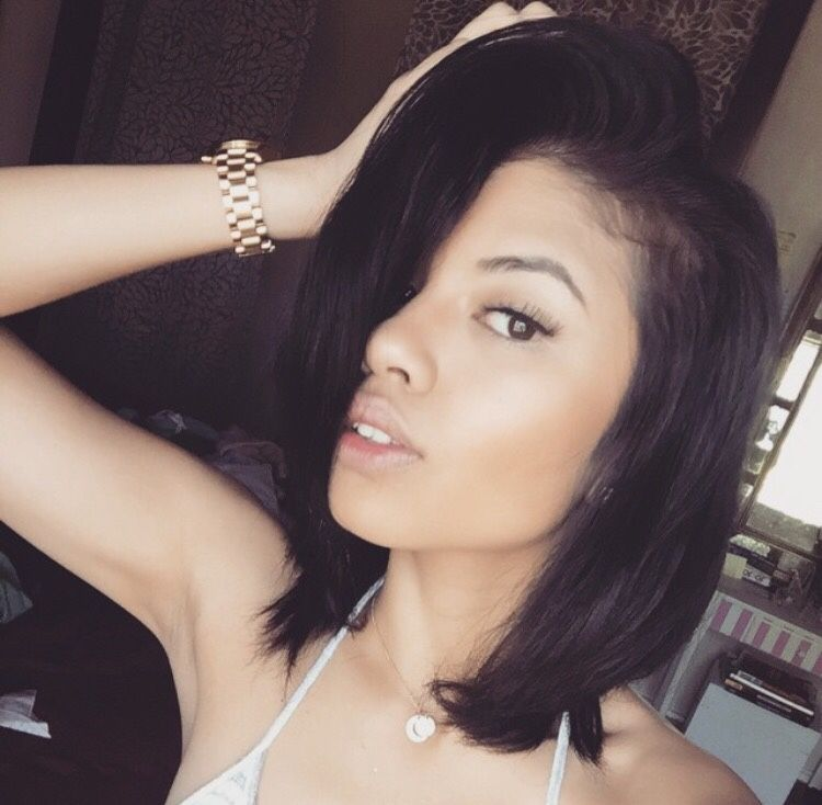 For short women hair black hairstyles curly