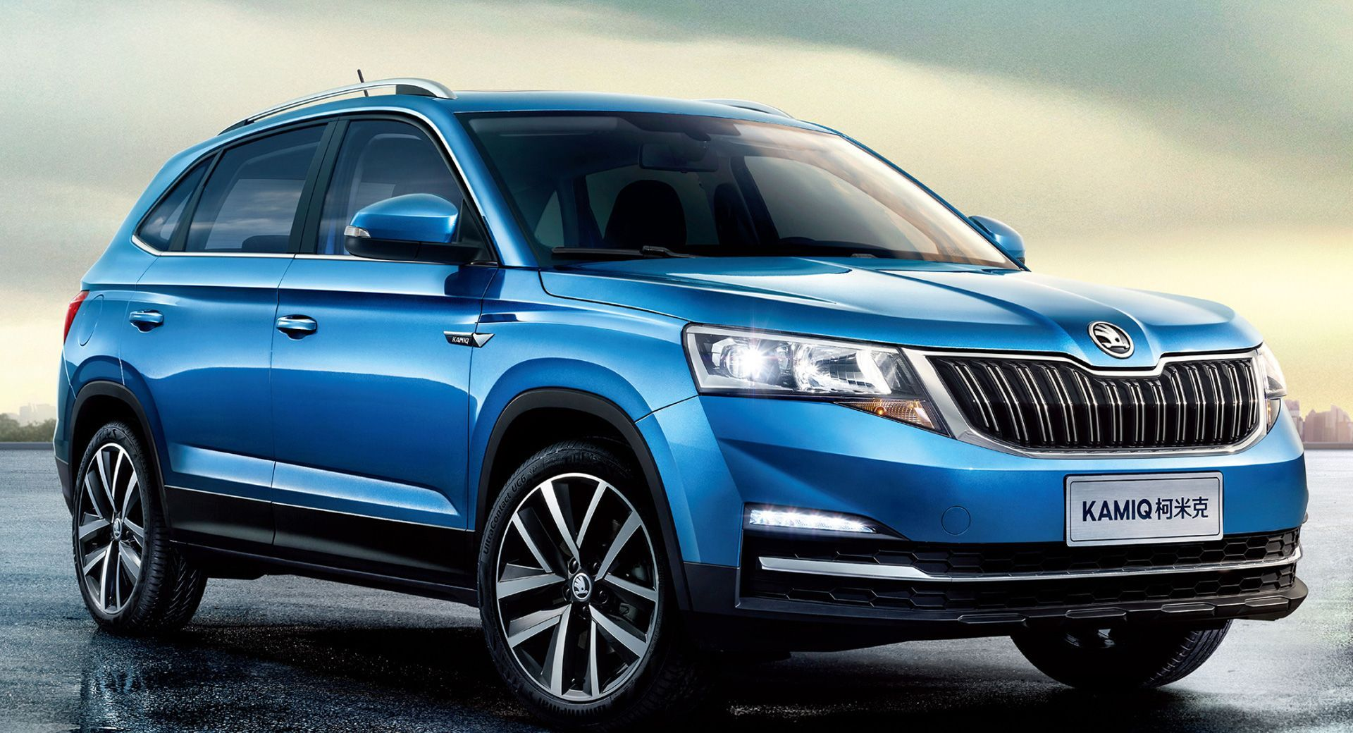 Skoda Kamiq Revealed In First Official Image Ahead Of