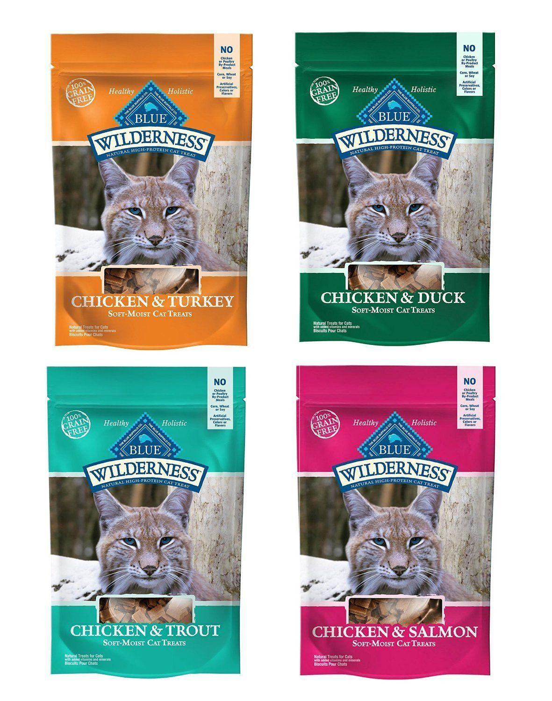 Blue Buffalo Wilderness SoftMoist GrainFree Cat Treats