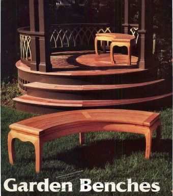 Japanese Garden Bench Plans   Outdoor Furniture Plans And Projects |  WoodArchivist.com
