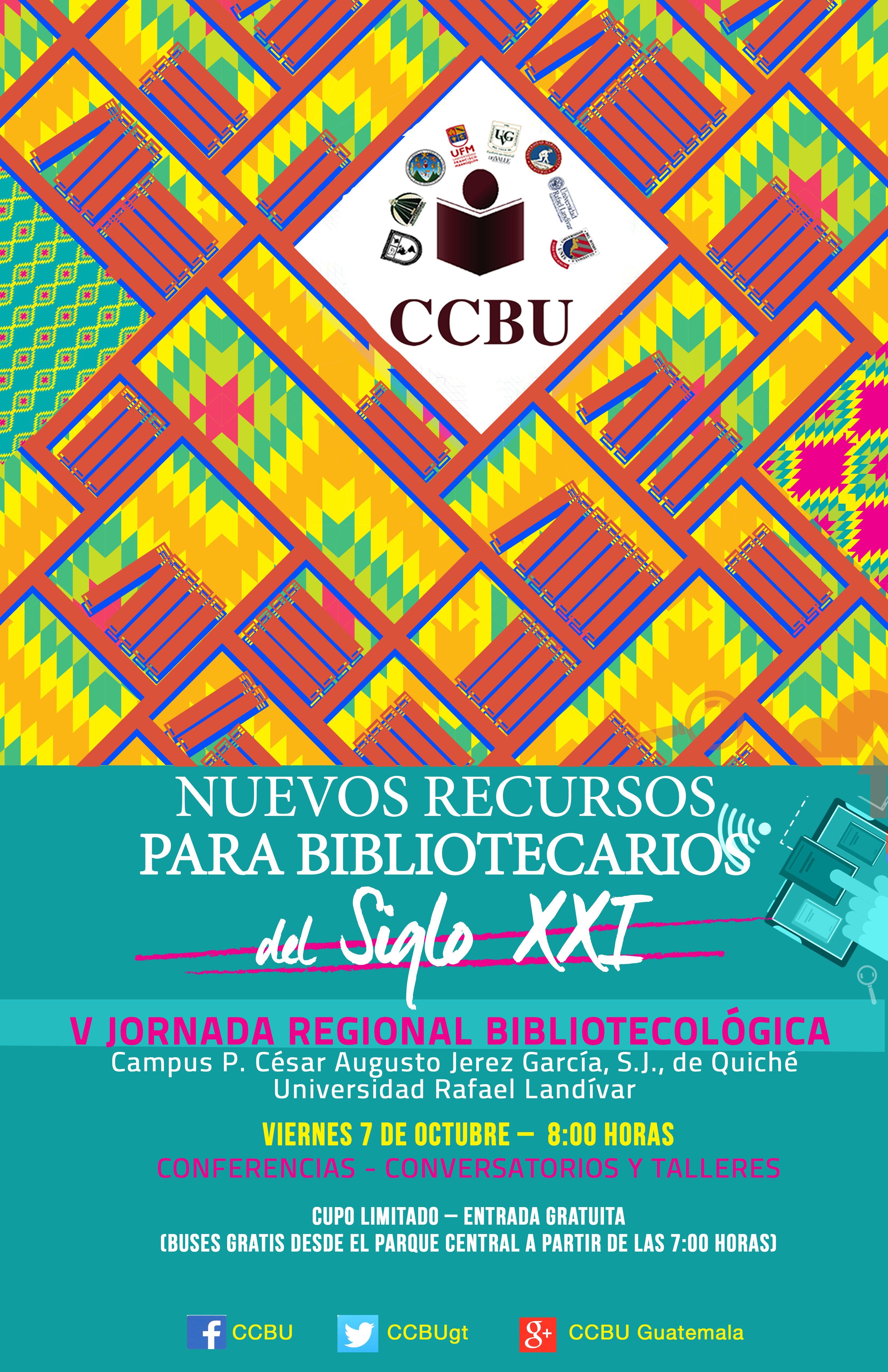 V Jornada regional CCBU 2016, nuestro evento de Octubre en el interior del país