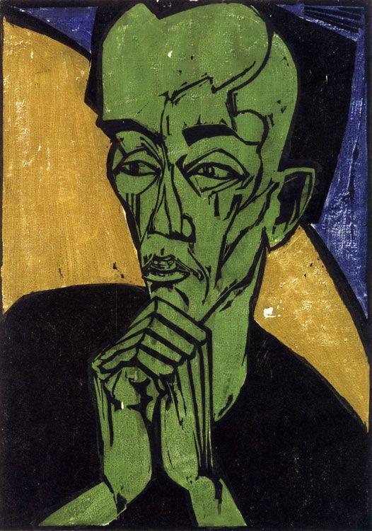Histoire De L Art Les Mouvements Dans La Peinture L Expressionnisme Art Degenere Peinture L Art Du Portrait