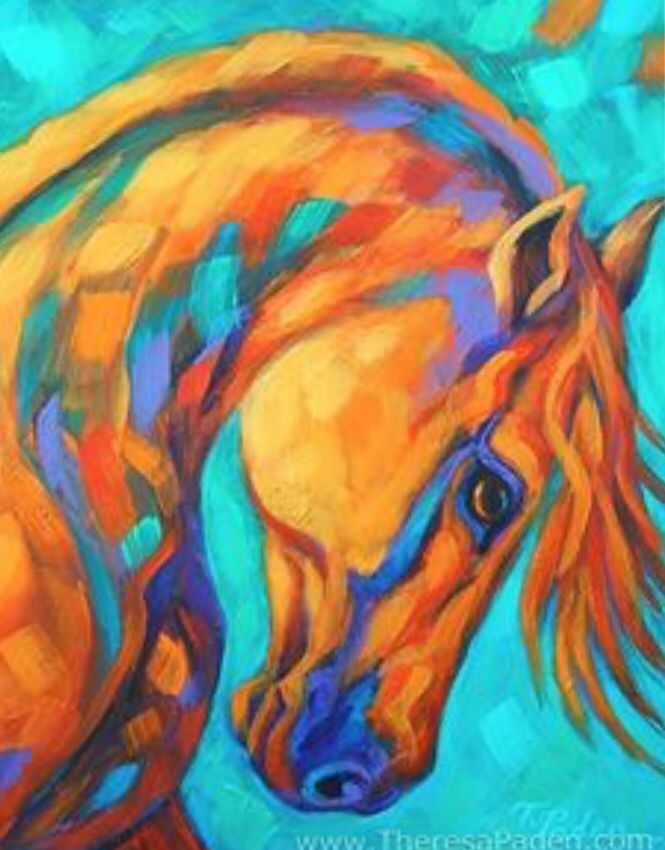 Painting Of An Amazing Horse (With Images)