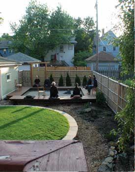 meditating in zen japanese garden in backyard of robert althouse and june tanoue 39 s residence in