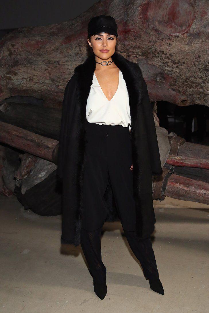Pin for Later: Die besten Outfits sitzen in der Front Row Olivia Culpo bei der Modenschau von Public School