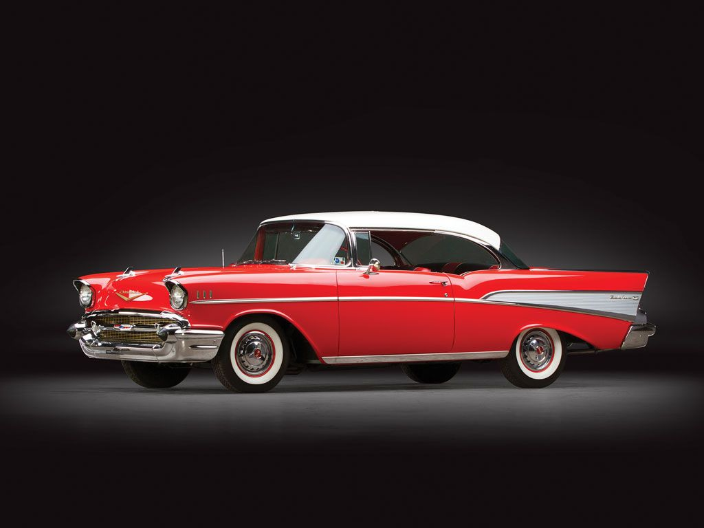 1957 Chevrolet Bel Air Sport Coupe   Sam Pack Collection 2014   RM Sotheby's