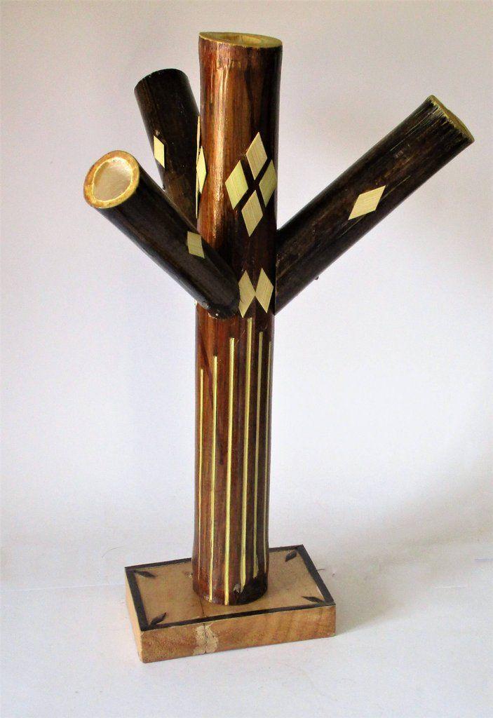 Bamboo made Bangle Stand | Handicrafts - OdiKala | Pinterest ...