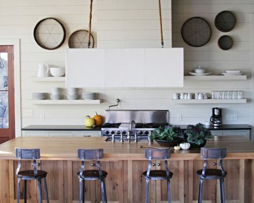 Design By Yvonne Mcfadden Via Houzz The Reserve Residence Industrial Kitchen Design Industrial Style Kitchen Kitchen Design