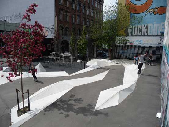 Charlotte ammundsens play plaza copenhagen denmark 1 1 for Urban danish design