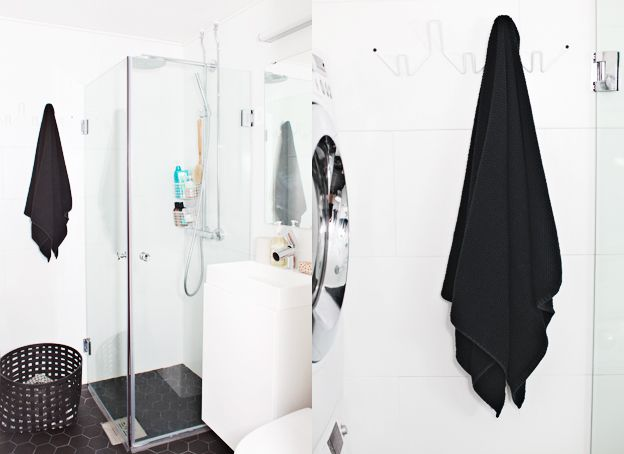 simple small bathroom by weekday carnival (read her blog for her redesign)