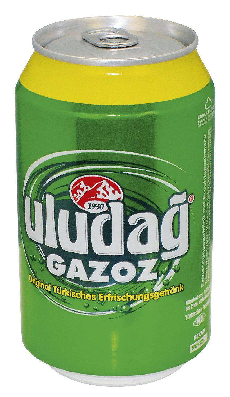 Baktat Uludag Gazoz, Einweg, 24er Pack (24 x 330 ml): Amazon.de ...