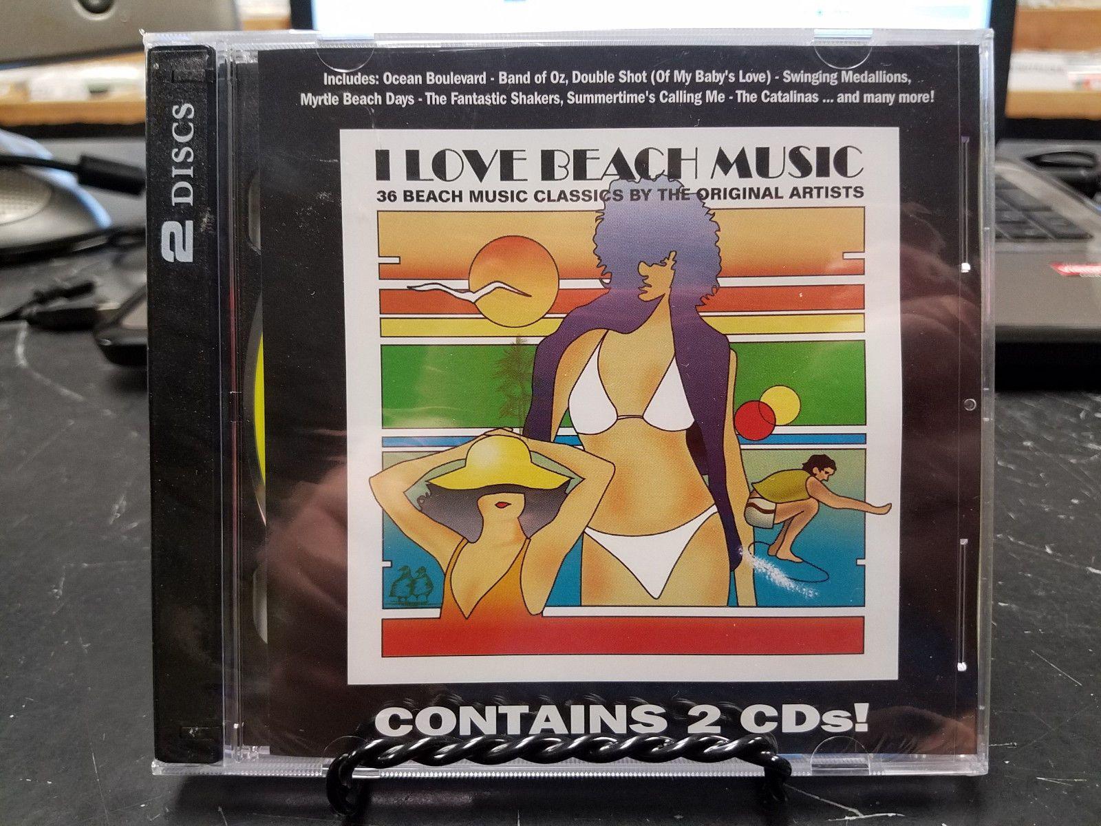 I Love Beach Music Voume 1 (CD) 2-DISC BRAND NEW SEALED