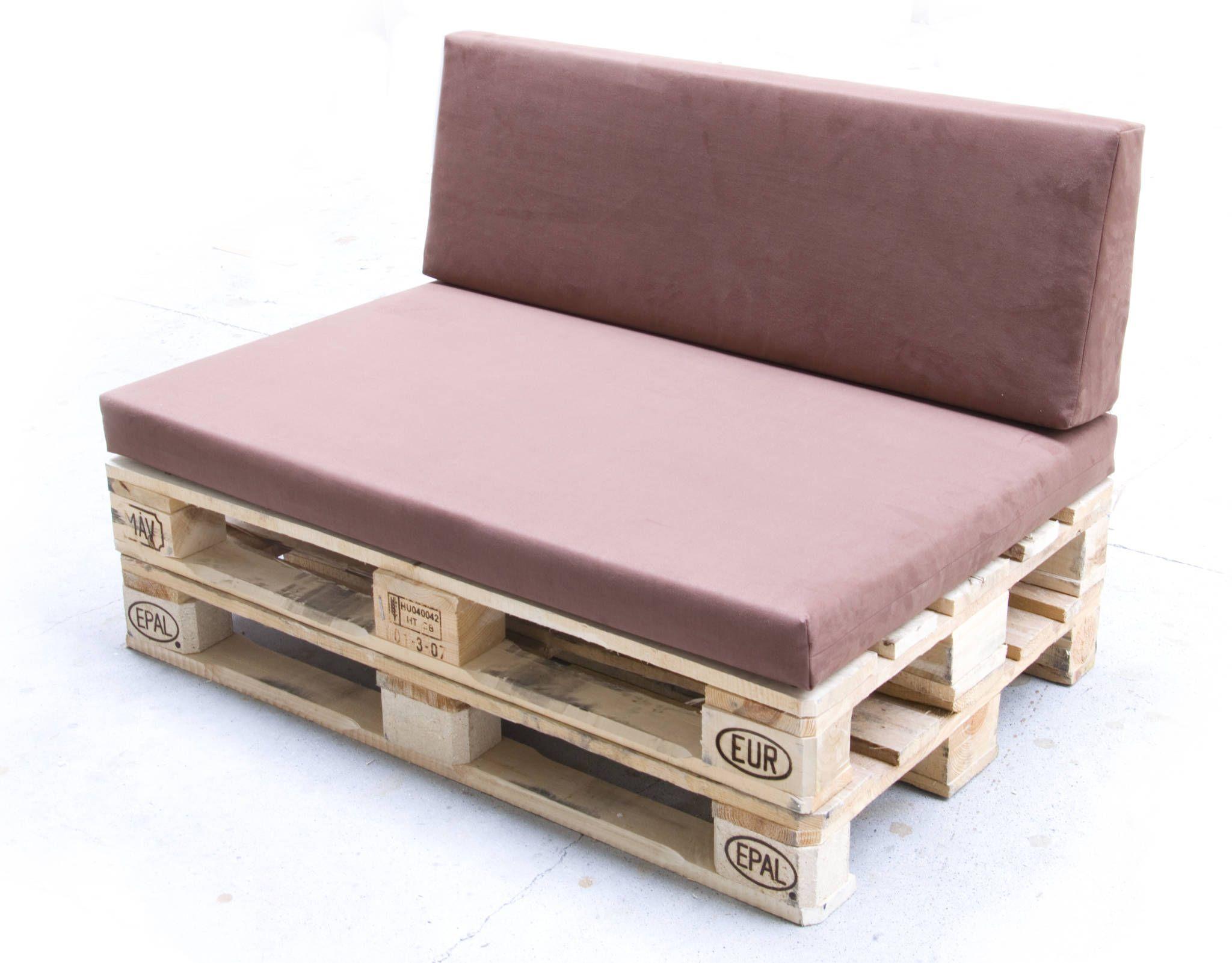 Palettenmöbel Polster paletten-polster kombi sitz&lehne mit bezug: wohnzimmer von iq