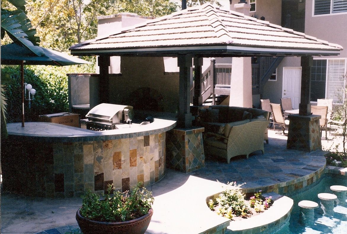 Covered patio roof ideas solid roof patio cover and for Covered patio ideas for backyard