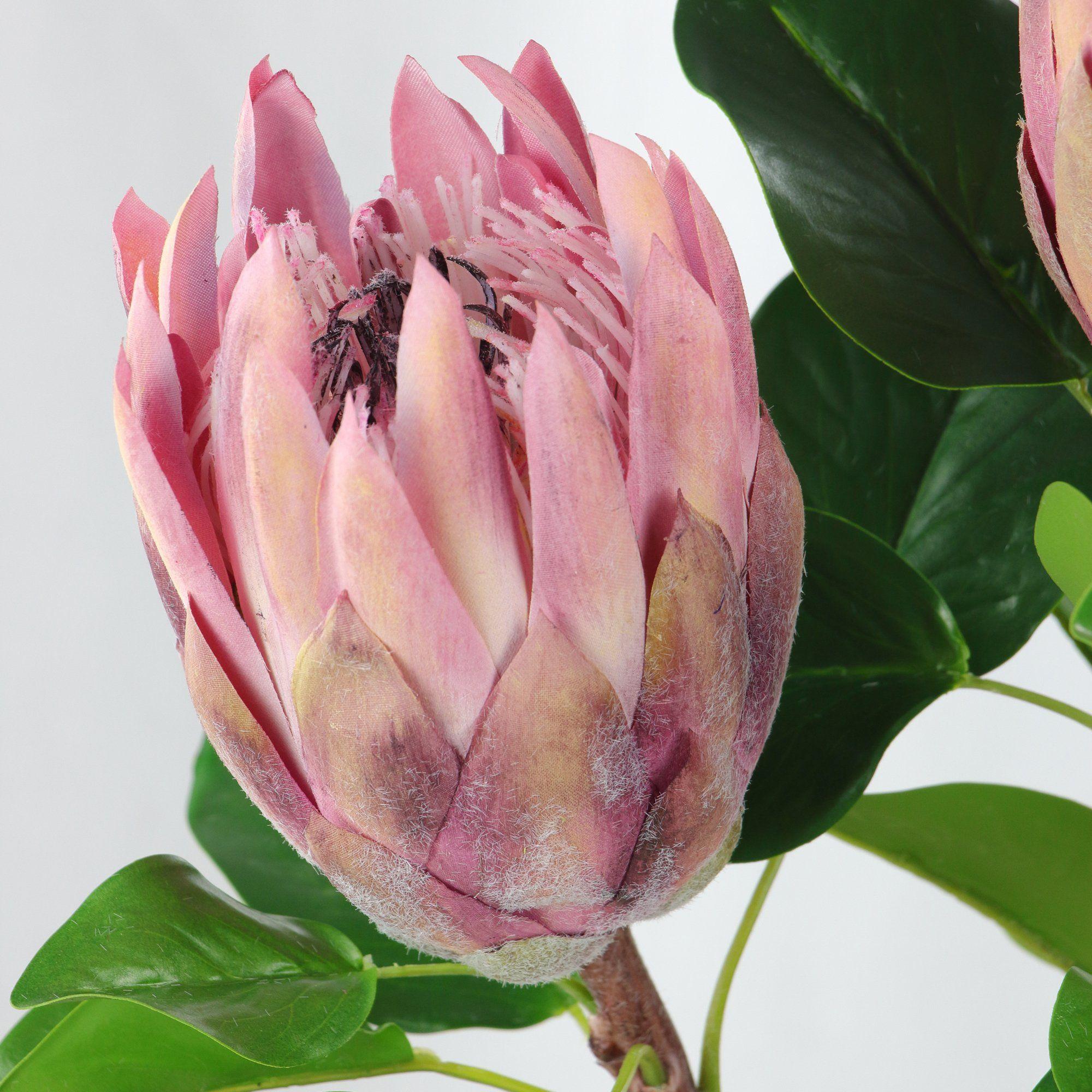 Rinlong Artificial Protea Cynaroides Silk Flower For Floral Arrangements Home Party Wedding Decor Silk Flowers Wedding Kitchen Flower Arrangements Silk Flowers