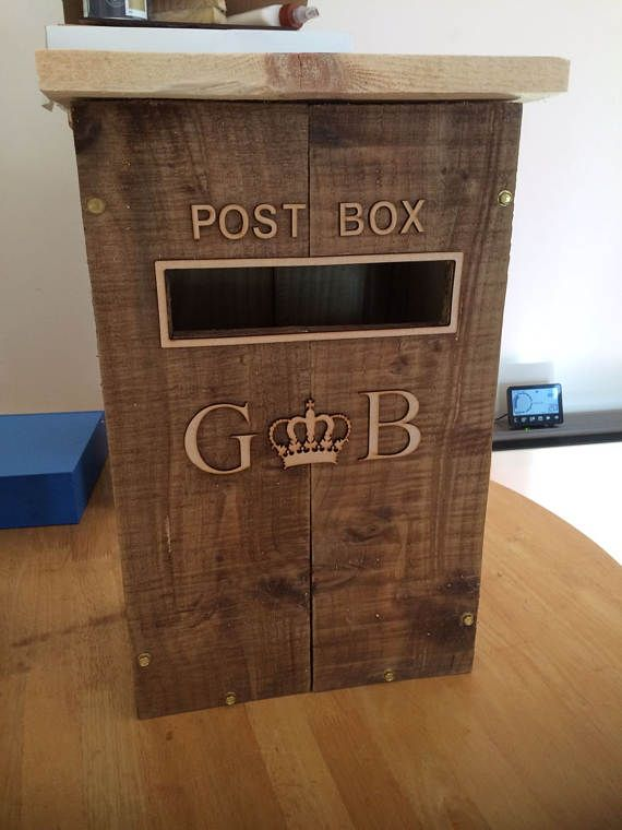 Wedding Wishing Well Wooden Post Box Vintage Style FOR HIRE
