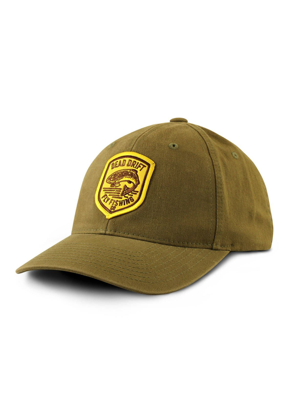 b7fe13ebf3161 Fly Fishing Hat RANGER Fitted Olive from Dead Drift Fly   TheFineArtofFlyFishing