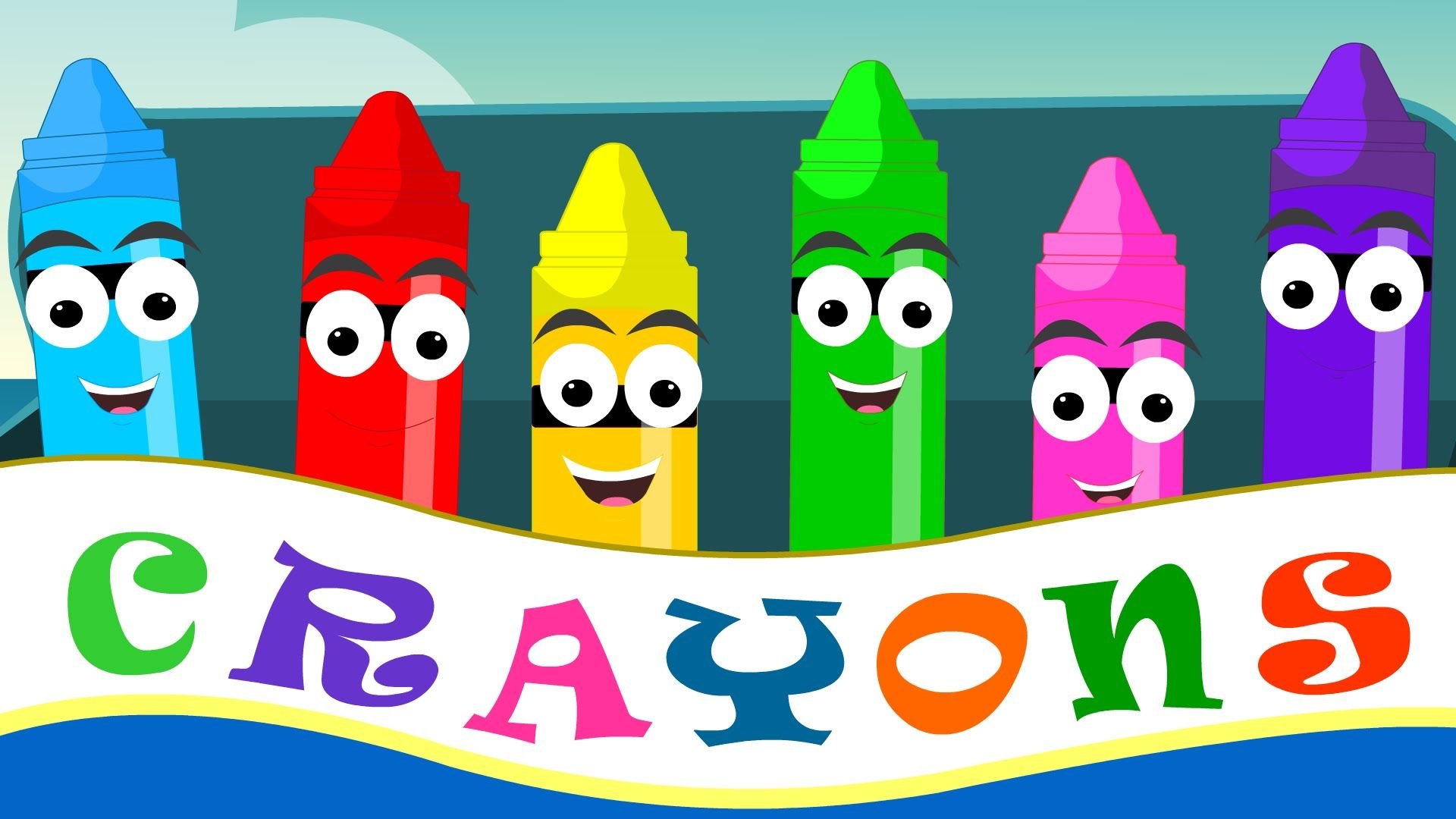 Crayons Color Song For Kid Songs Child Rhyme And Nursery