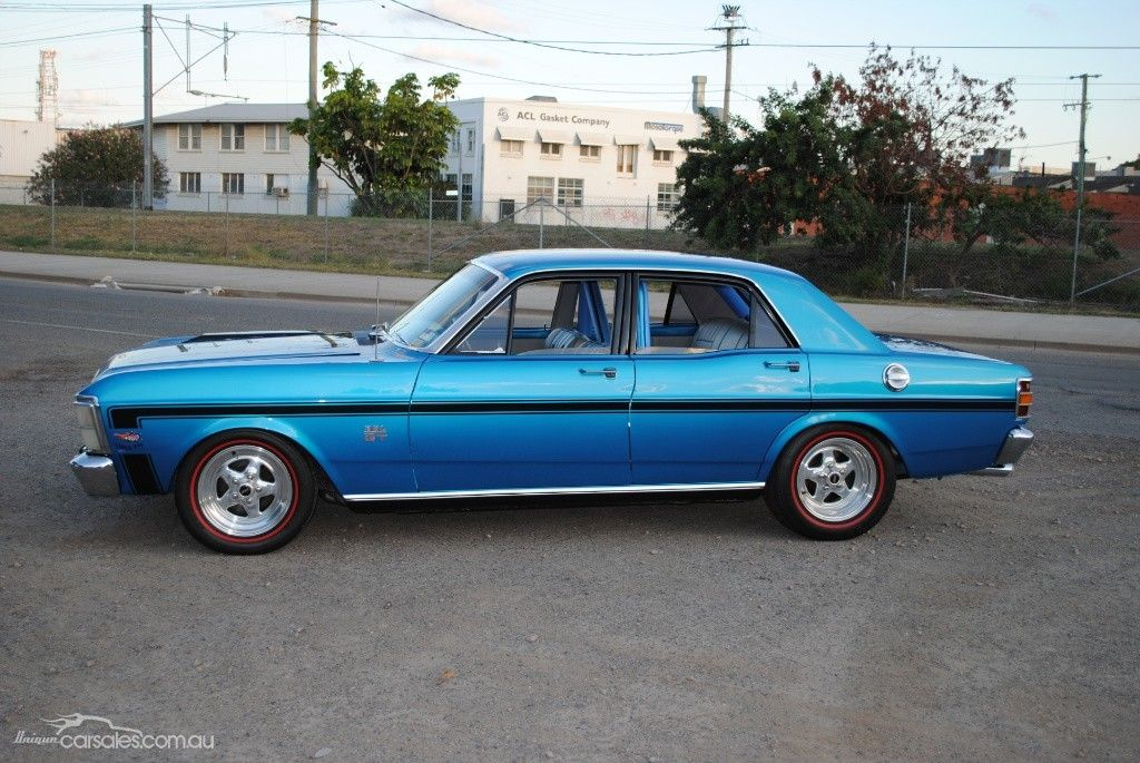 1969 Ford Falcon Xw Gt Ford Falcon Ford Gt Australian Muscle Cars