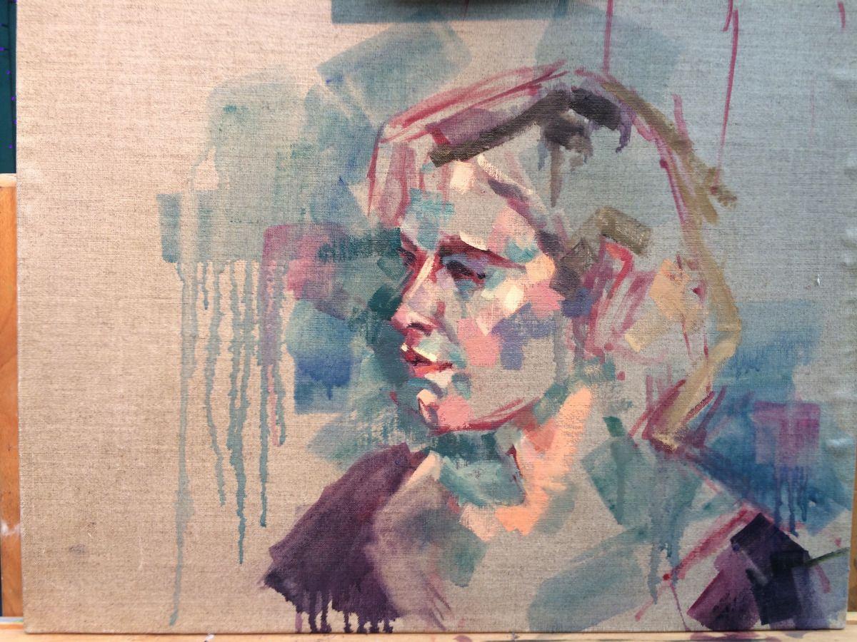 Lisa Pulhofer Sky Portrait Artist Of The Year Semi Finalist In 2020 Portrait Artist Portrait Artist