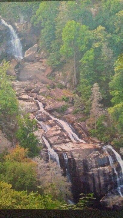 Schoolhouse Falls Cashiers NC | Waterfall, Vacation spots