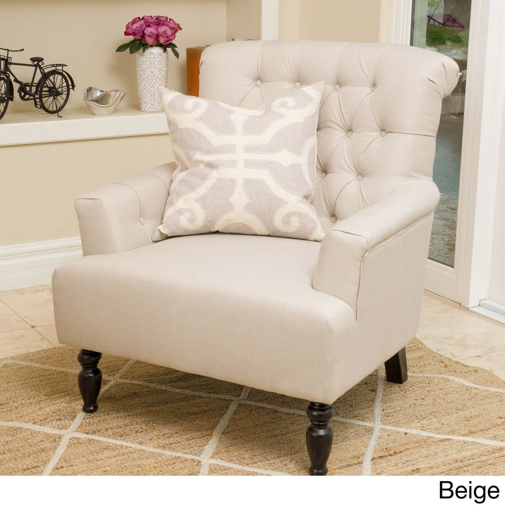 Bernstein Fabric Club Chair by Christopher Knight Home - 18462466 ...