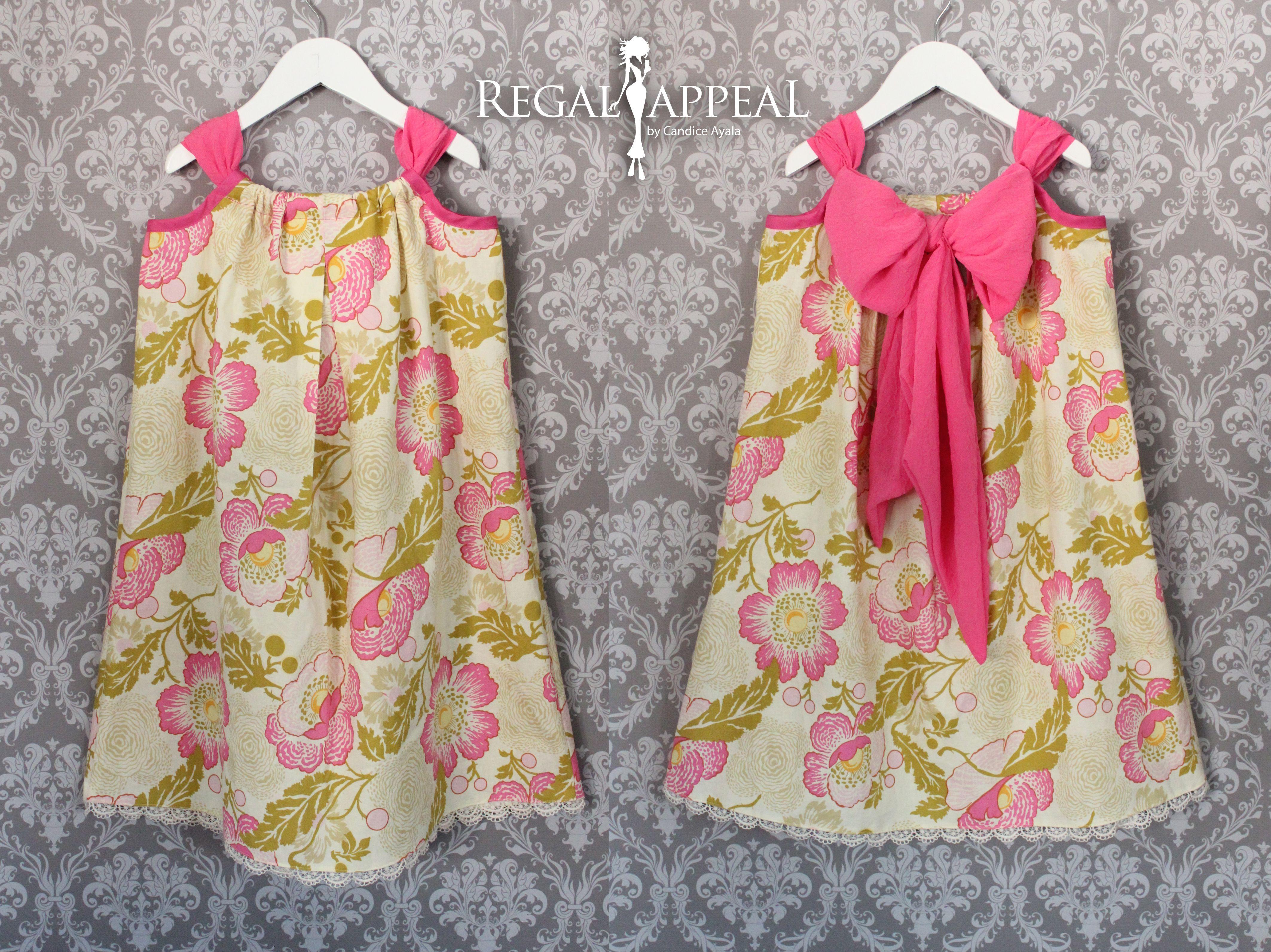 Diy Toddler Vintage Pillow Case Dress Kids Clothes Ropa Para Ninas Vestidos Para Ninas Como Hacer Ropa
