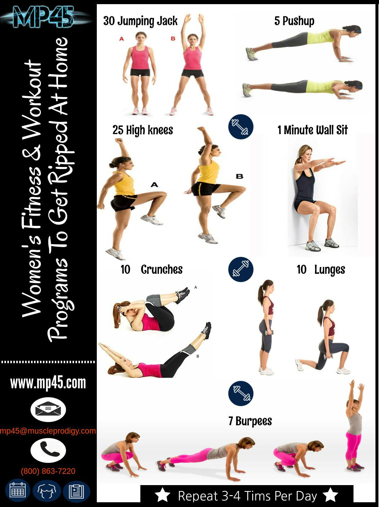 Follow These Top Exercises And Get Ripped Body At Home