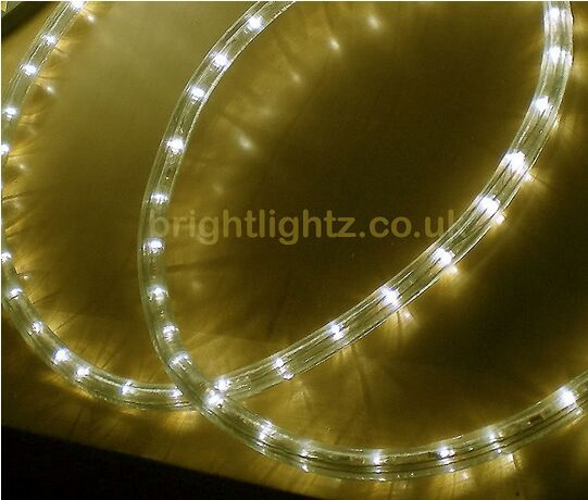20m cool white led rope light outdoor lights chasing static 20m cool white led rope light outdoor lights chasing static christmas xmas gardens aloadofball Images