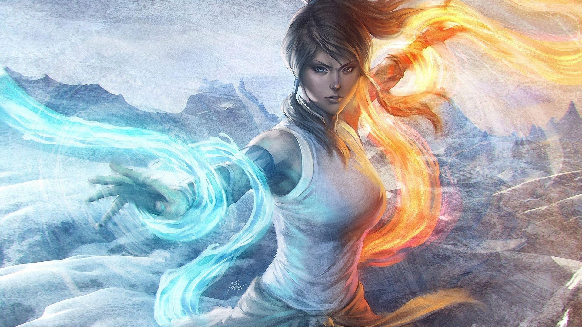 Magic Fantasy Mädchen Hintergrundbilder 1920x1080
