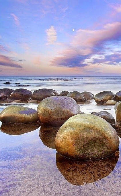 Bowling Ball Beach Is A Part Of Schooner Gulch State Beach In