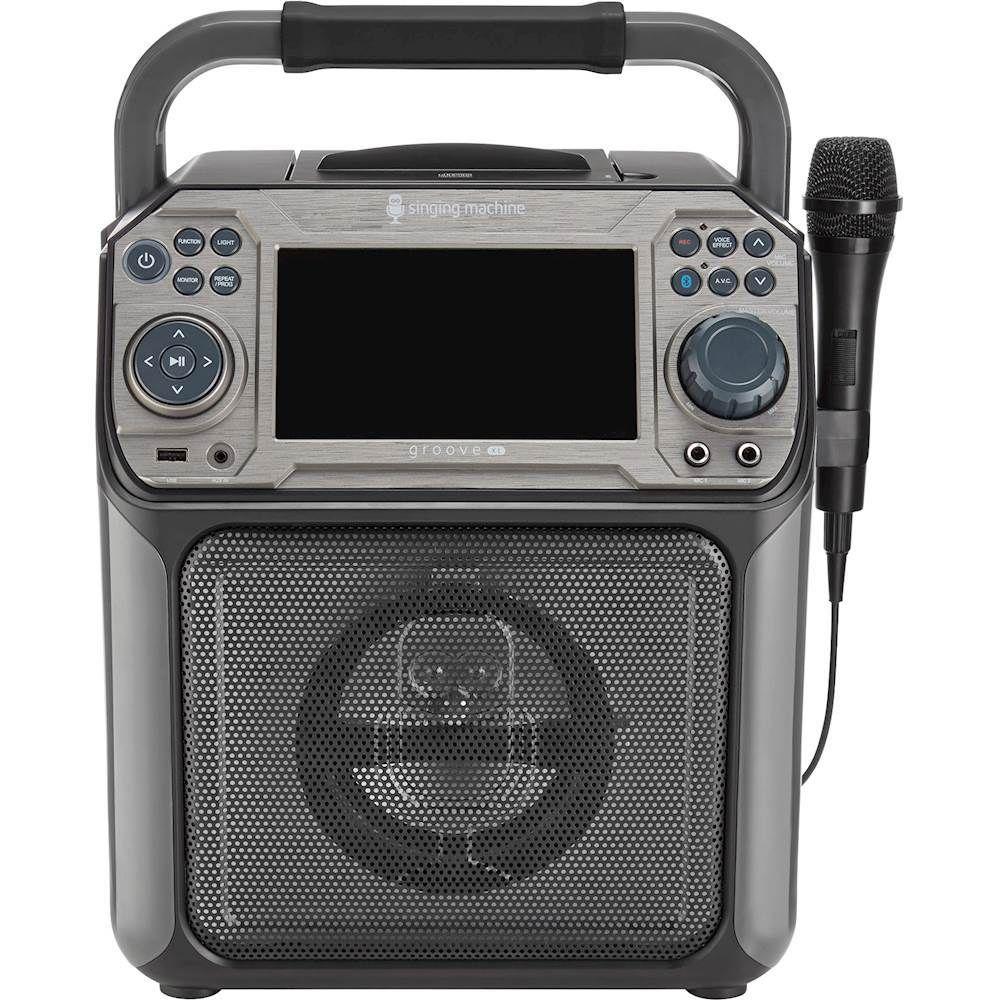 Singing Machine - Groove XL CD+G Karaoke System - Black #karaokesystem