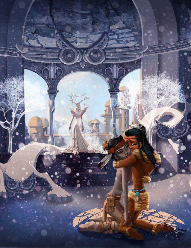 The Snow Queen by *Freiheit (deviantArt)