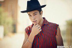 Austin Mahone on Teen Vogue