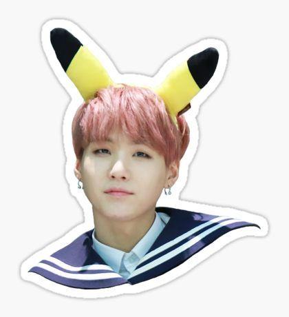 Pikasuga | BTS Sticker